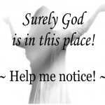 Surely God poster 8.5x11